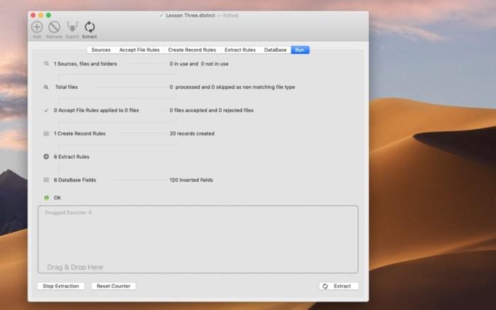 Data Extractor Screenshot 08 13at2wn