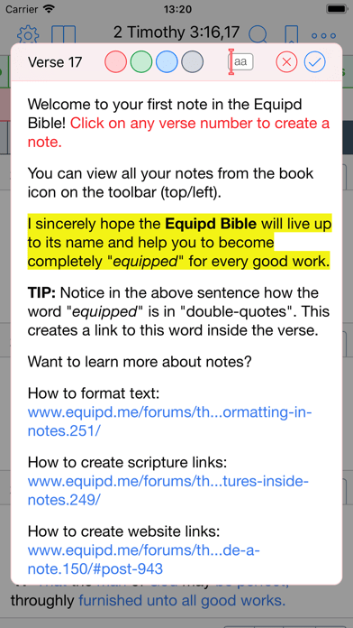 Cool App Update: Equipd Bible for iPhone and iPad (Bible
