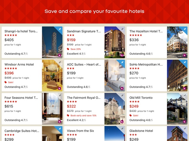 ‎Hotels.com: Book Hotels & More Screenshot