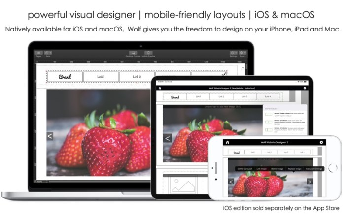 Wolf 2 - Responsive Designer Screenshot 01 cf188mn