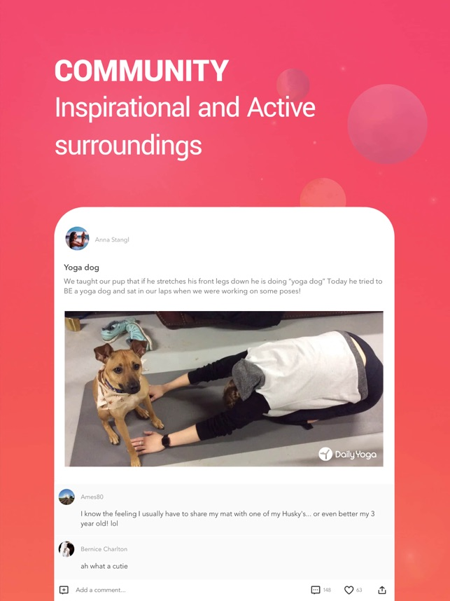 Daily Yoga: Fitness & Stretch Screenshot