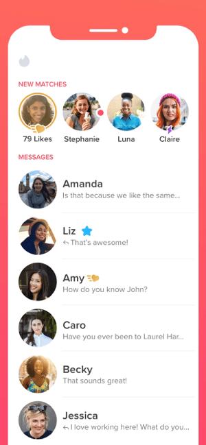 Tinder - Dating & Meet People Screenshot