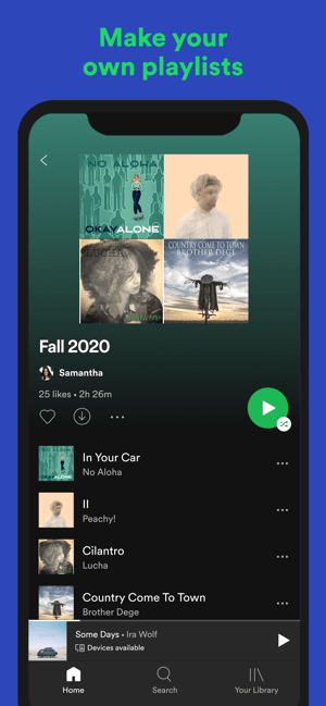 ‎Spotify New Music and Podcasts Screenshot