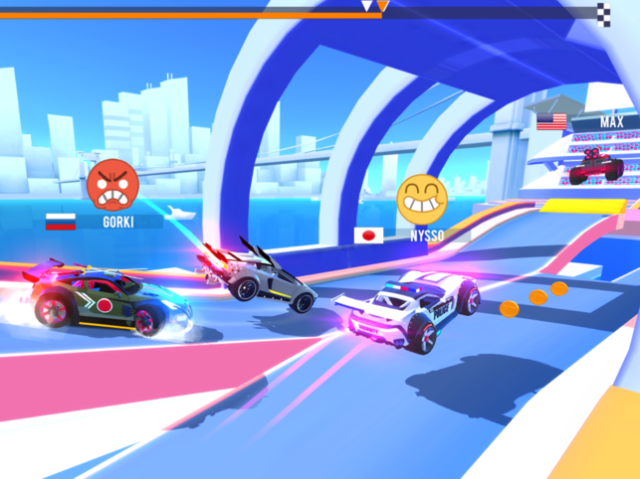 SUP Multiplayer: Race cars Screenshot