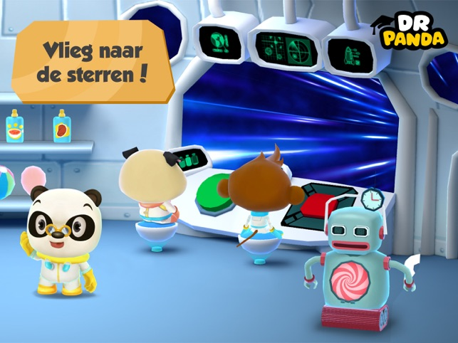 ‎Dr. Panda in de Ruimte Screenshot