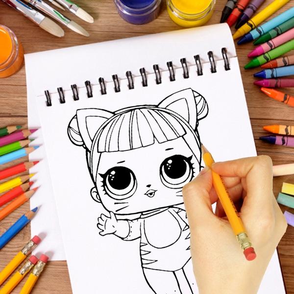 How to Draw LoL Cute Dolls