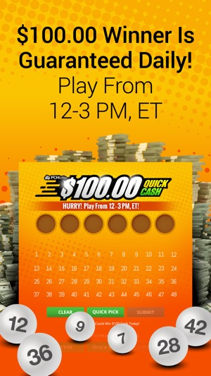 PCH Lotto - Real Cash Jackpots iOS Game Review - iOS Game