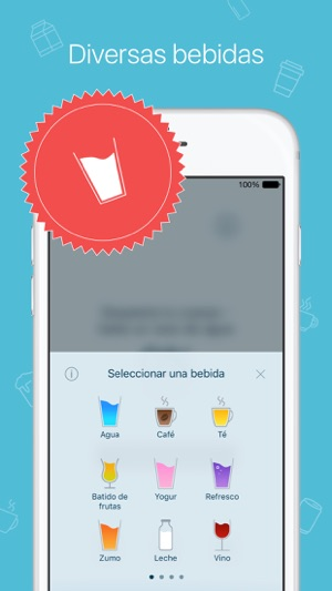 Mi agua: control diario bebida y avisos Screenshot