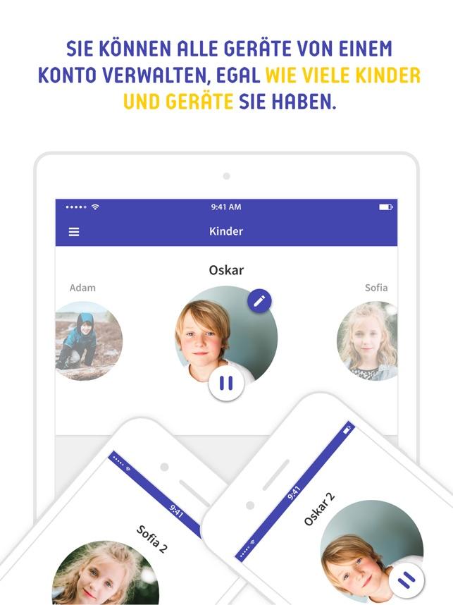 Screen Time Parental Control Screenshot