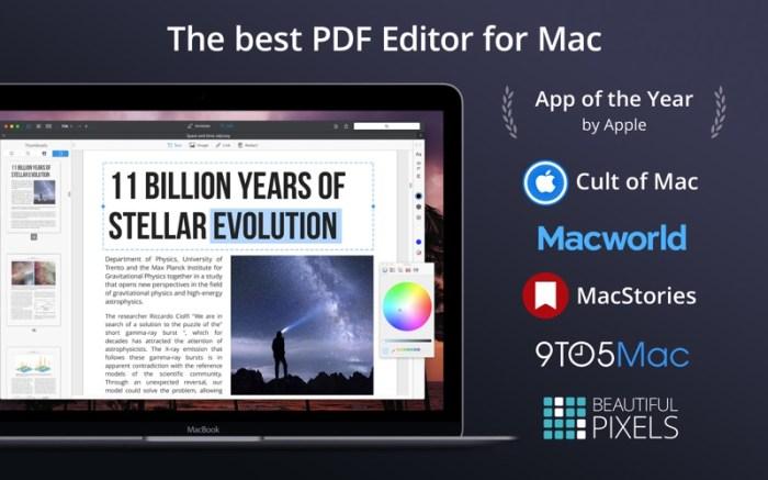 PDF Expert - Edit and Sign PDF Screenshot 1 134ng3n