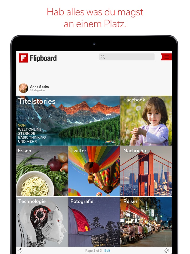Flipboard: News Für Dich Screenshot