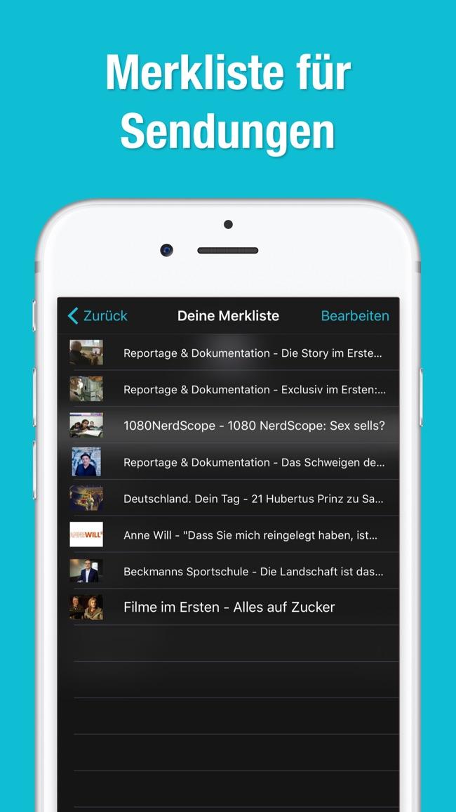 TV.de Mediatheken Screenshot