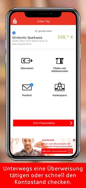 Sparkasse  Ihre mobile Filiale Screenshot