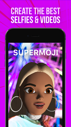 SUPERMOJI - the Emoji App Capture d'écran