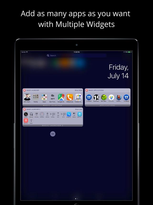 Magic Launcher Pro Screenshot