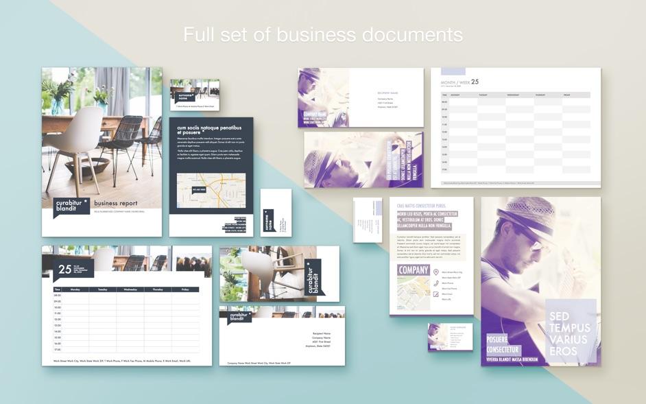 Branding Lab Templates 3.3 Mac 激活版 - Pages信纸模板合集
