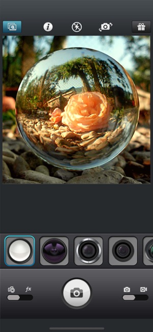 InFisheye -Fisheye Lens Camera Screenshot