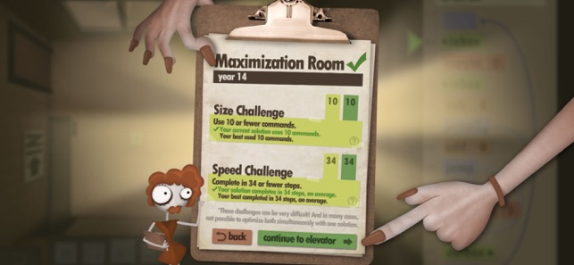 ‎Human Resource Machine Screenshot