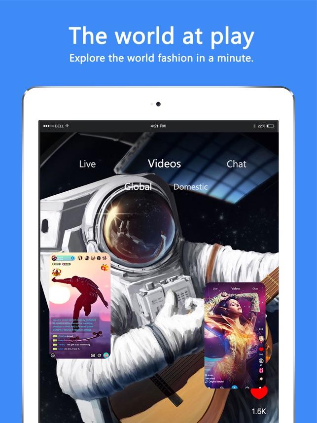 Facecast-live streams & videos Screenshot
