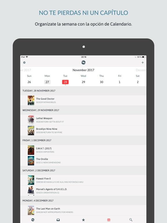 iShows TV powered by Trakt.tv Screenshot