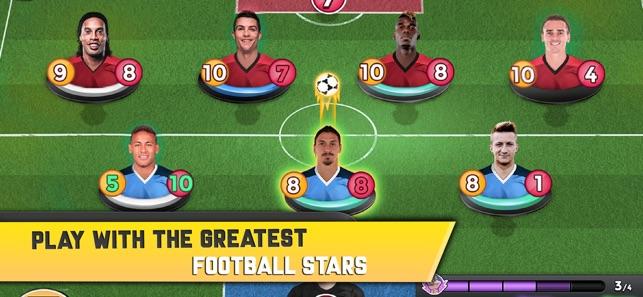top stars card soccer