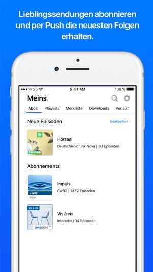 ARD Audiothek Screenshot
