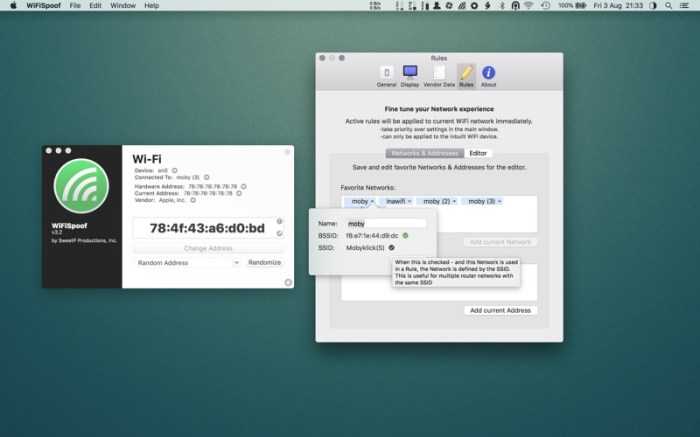 WiFiSpoof Screenshot 04 9nlsbvn