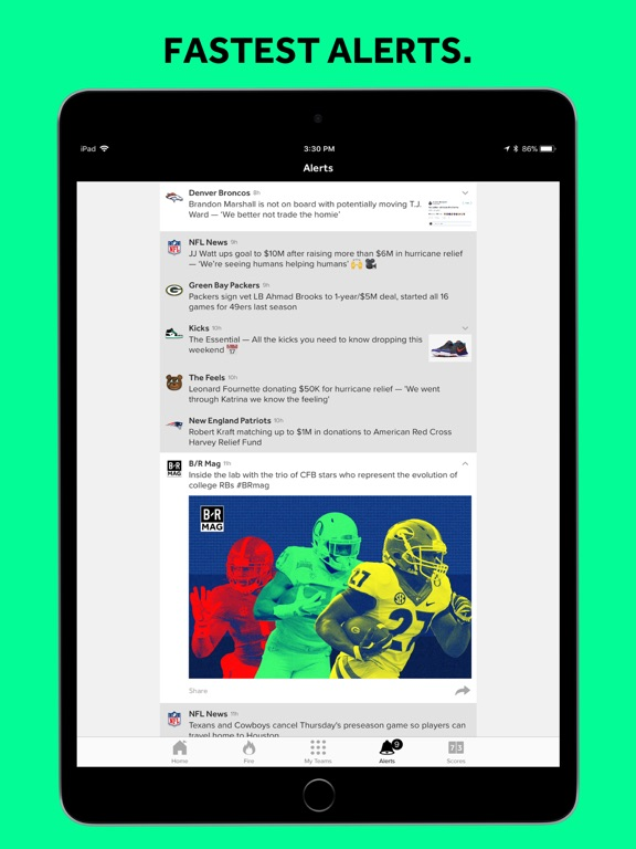 Bleacher Report: Sports News Screenshot
