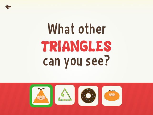 Toddler Learning Games Ask Me Shape Games for Kids Screenshot