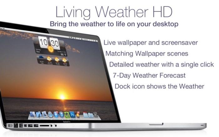 Living Weather & Wallpapers HD Screenshot 02 cf188mn