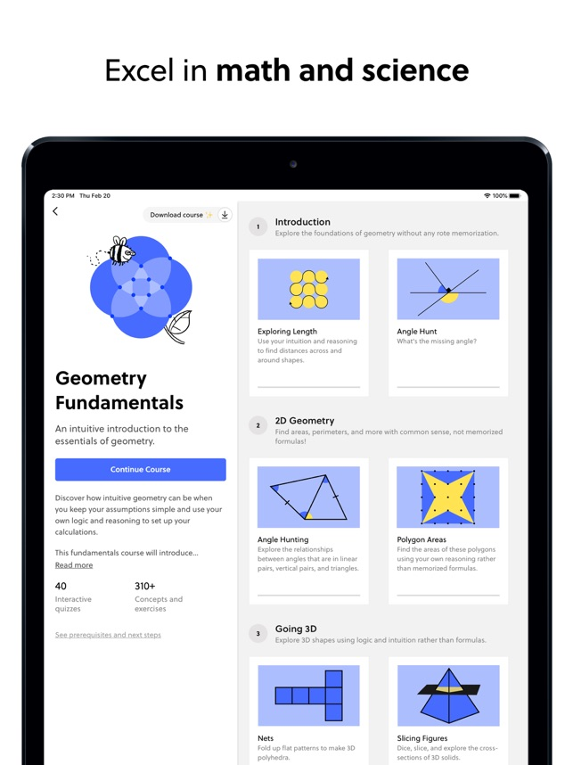 ‎Brilliant – solve, learn, grow Screenshot