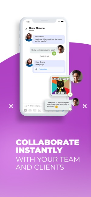 Spike Email - Team Mail & Chat Screenshot