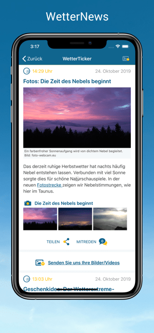 WetterOnline - Wetter App Screenshot