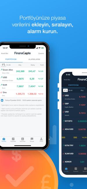 FinansCepte Döviz Altın Borsa Screenshot
