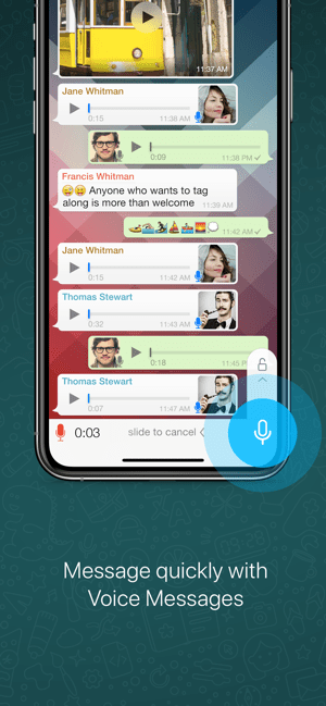 ‎WhatsApp Messenger Screenshot