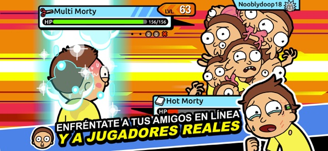 ‎Rick and Morty: Pocket Mortys Screenshot