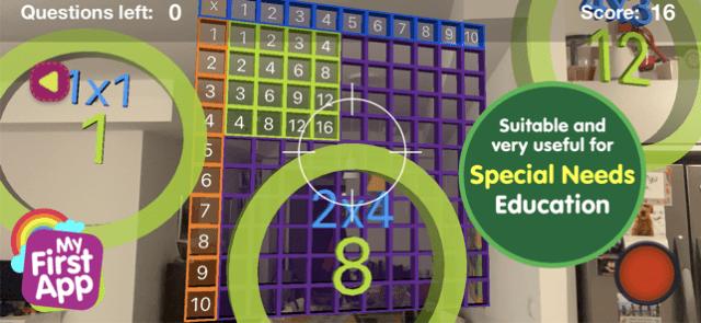 Multiplication table- Full ver Screenshot