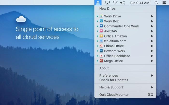 CloudMounter: cloud encryption Screenshot 01 1lhgmx5n