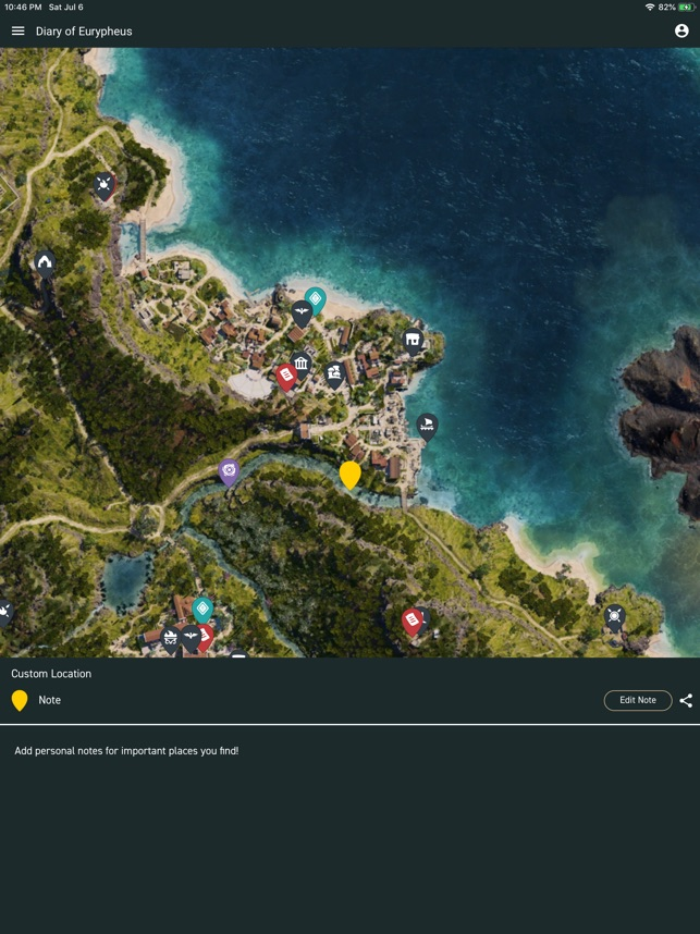 Ac Odyssey Interactive Map : odyssey, interactive, Unofficial, Odyssey, Store