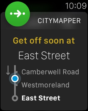 Citymapper Transit Navigation Screenshot