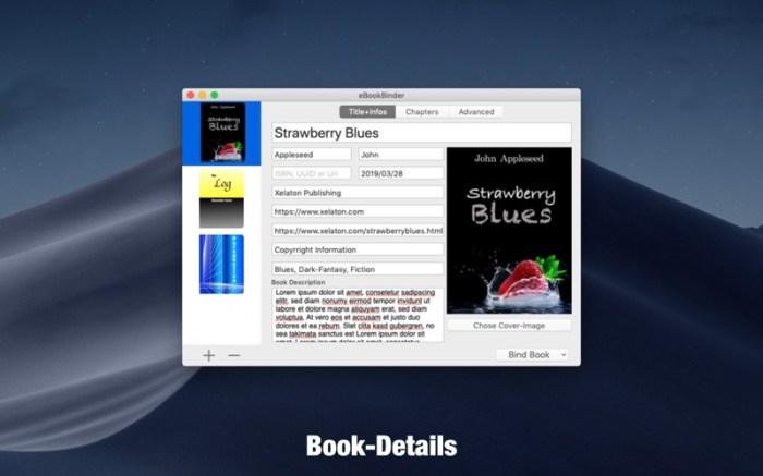 eBookBinder Screenshot 02 9ov19jn