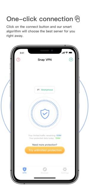 Snap VPN - Hotspot VPN Proxy Screenshot