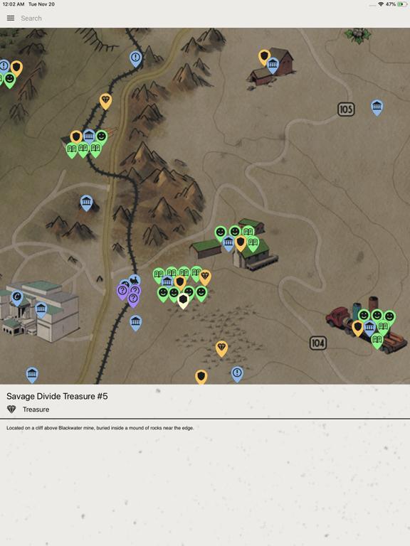 Savage Divide Treasure Map No. 01 - The Vault Fallout Wiki...