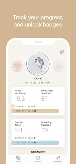 Oak - Meditation & Breathing Screenshot