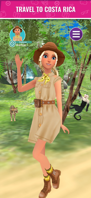 Barbie™ World Explorer Screenshot
