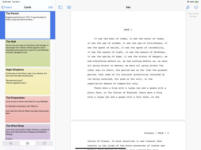 Storyist 4 Screenshot