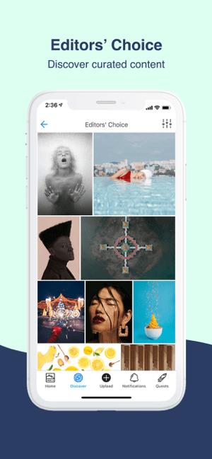 500px – Photography Community Screenshot