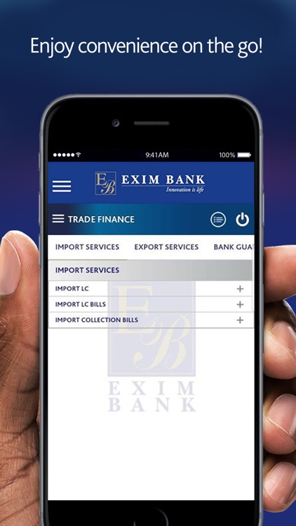 Exim Online Banking Business By Exim Bank T Limited