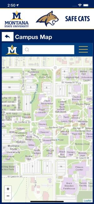 Montana State University Campus Map : montana, state, university, campus, Montana, State, University, Campus, World, Atlas