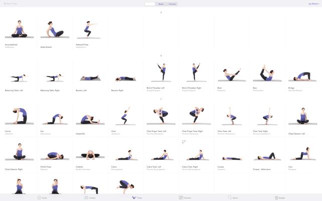Yoga Studio: Poses & Classes Screenshot